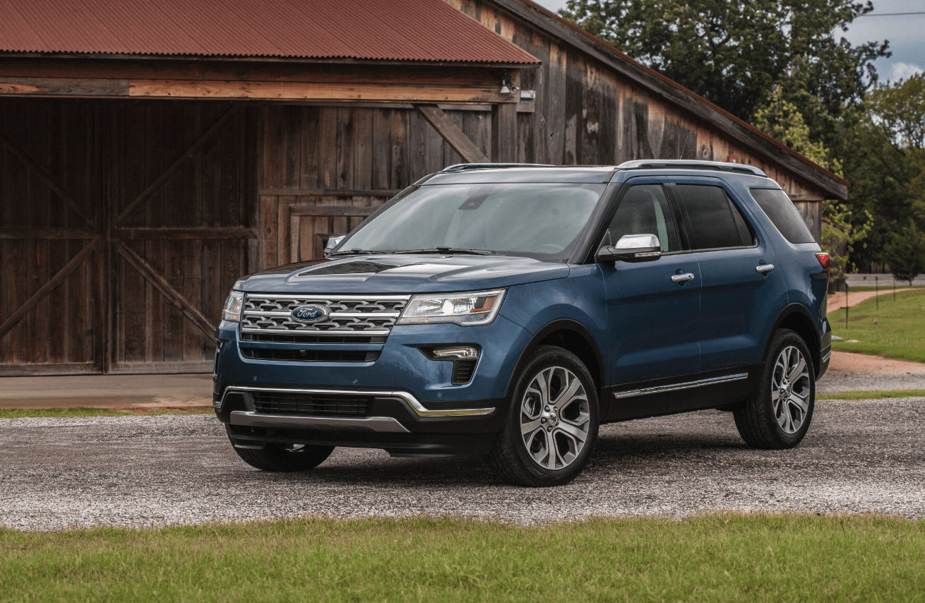 Best SUVs to Drive in Canada 2019 - Ford Explorer 2019